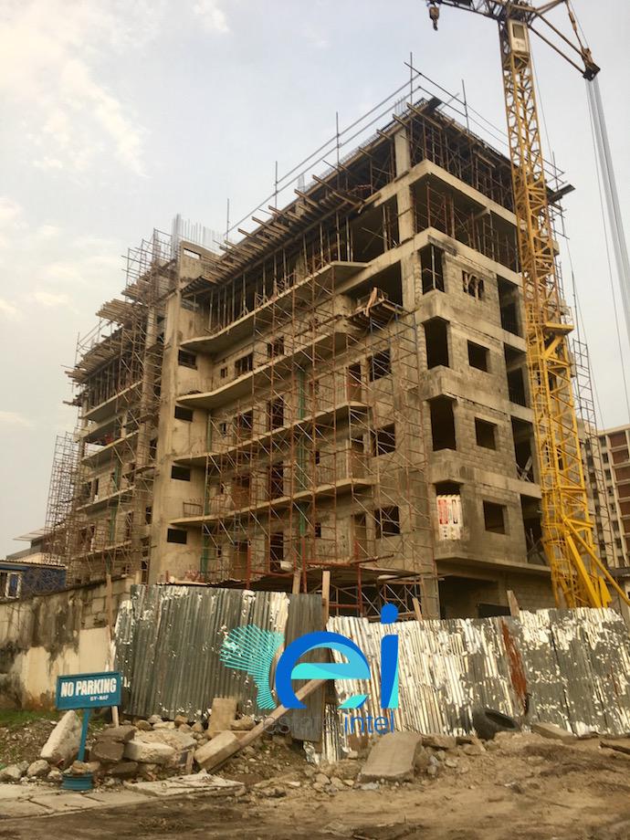 June 2017. Residential Development by Africa Reinsurance on 19/20 Akarigbere Close, Off Idejo Street, Victoria Island, Lagos