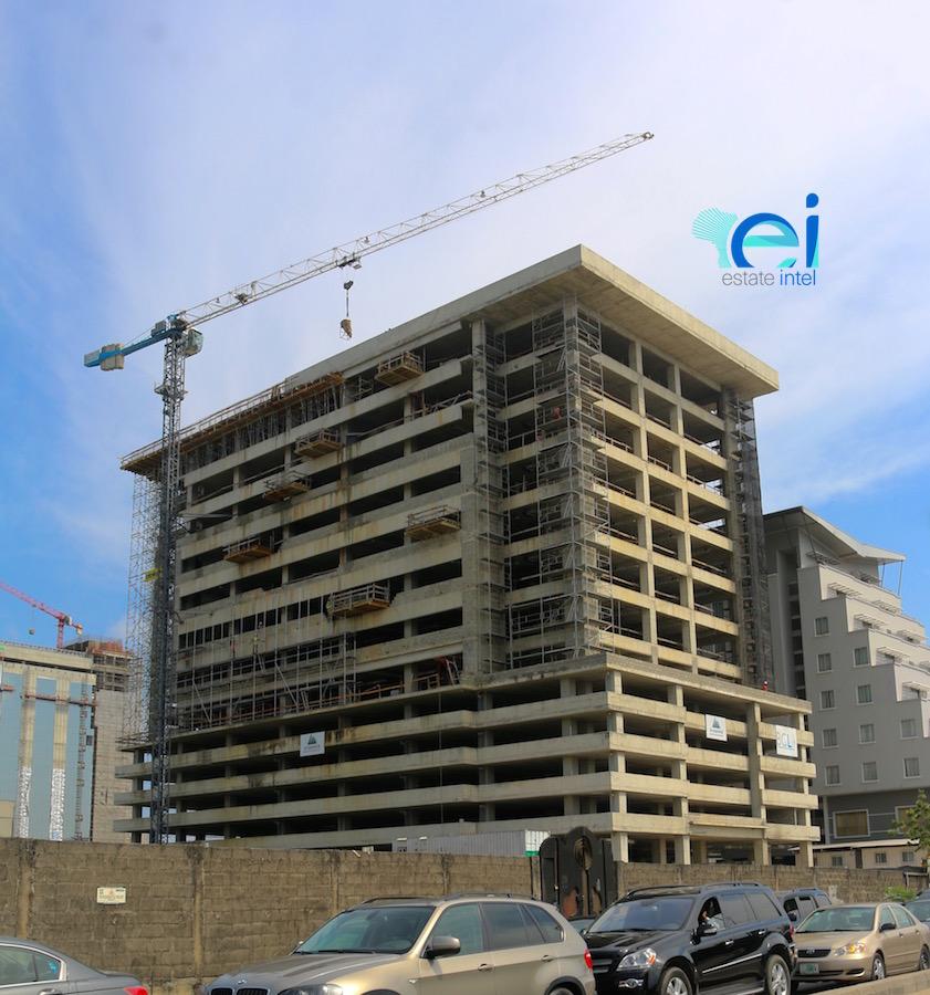 October 2017. Updated - Development: Cornerstone HQ, Victoria Island Annex (Oniru) - Lagos