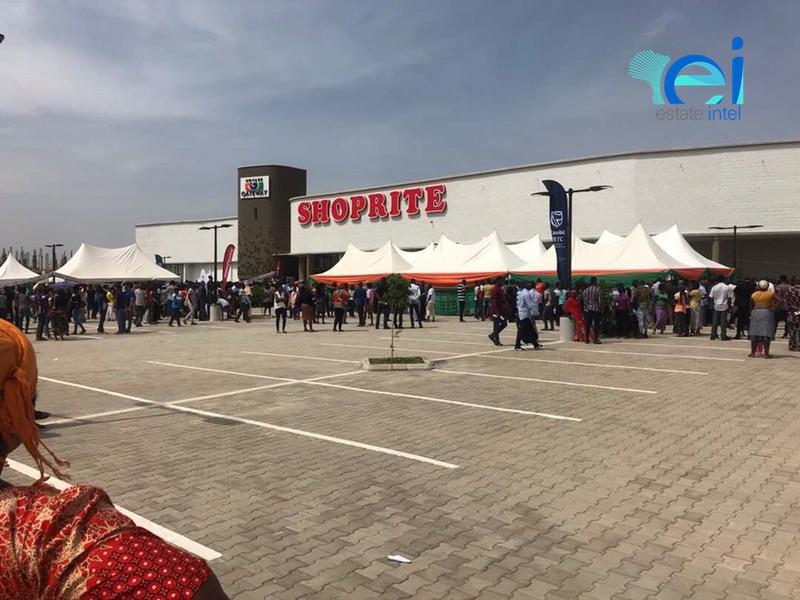 November 2017. Gateway Mall, Lugbe - Abuja.