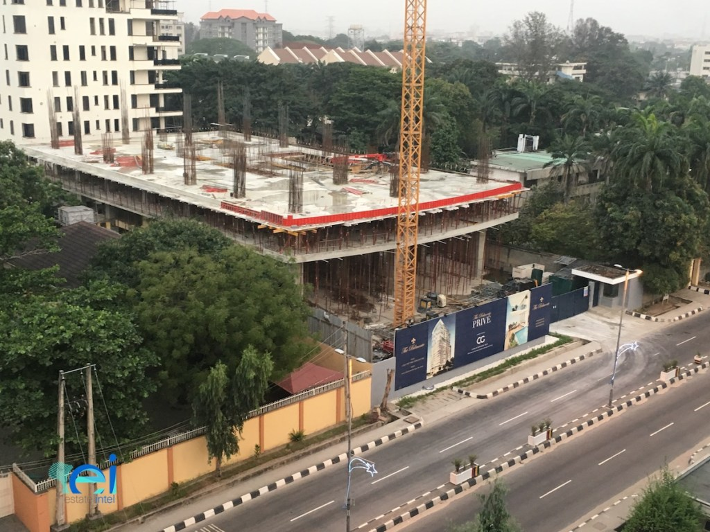 December 2017. Development: The Belmonte PRIVE, 40 Bourdillon Road, Ikoyi - Lagos