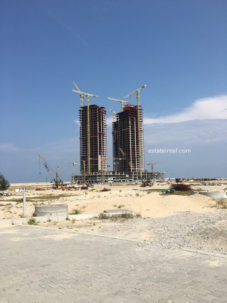 June 2018. Development: The Azuri Peninsula, Eko Atlantic - Lagos.