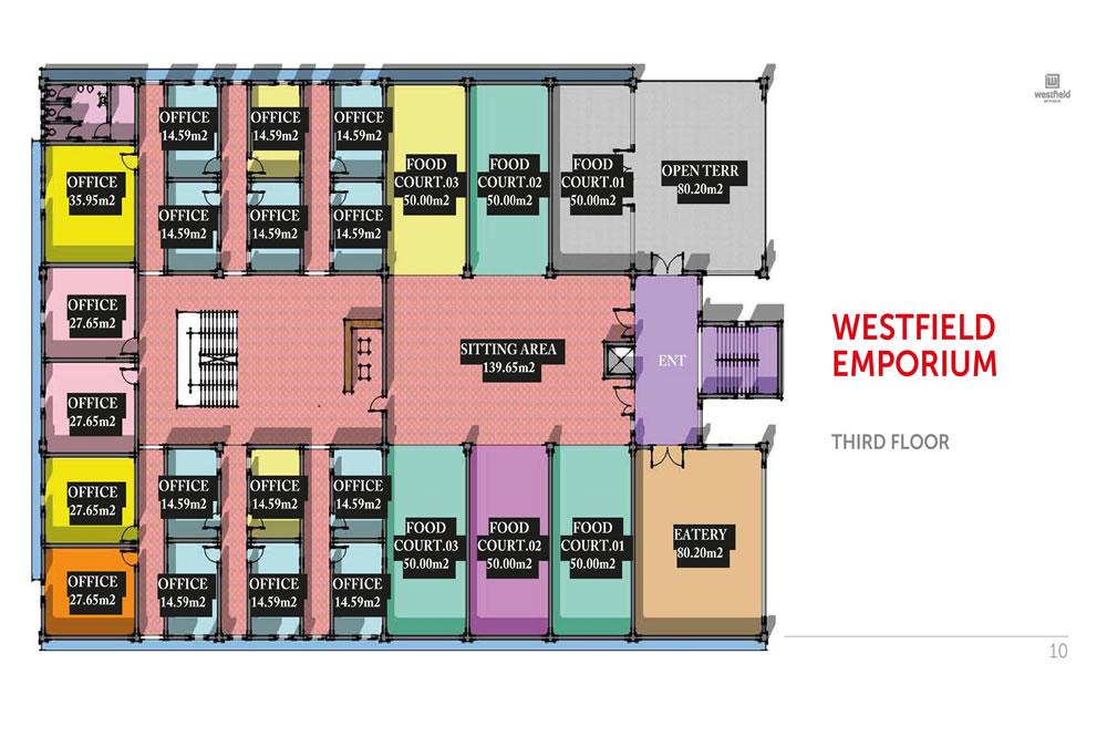Development: Westfield Emporium (Mall), Ikate Roundabout, Lekki Epe Expressway - Lagos