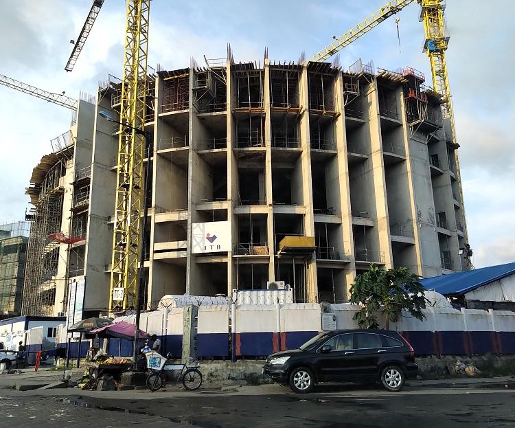 October 2018. Development: Trinity Towers, Chief Yesuf Abiodun Oniru Way, Oniru - Lagos