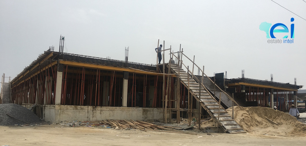 October 2017. Development: Westfield Emporium, Ikate Roundabout, Lekki Epe Expressway - Lagos