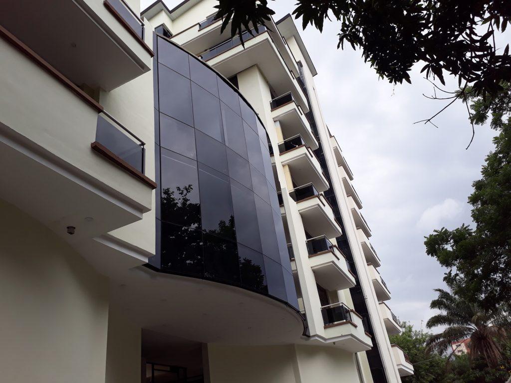 June 2018. Development: Oakwood Residences, Cooper/Femi Okunnu Road, Ikoyi - Lagos