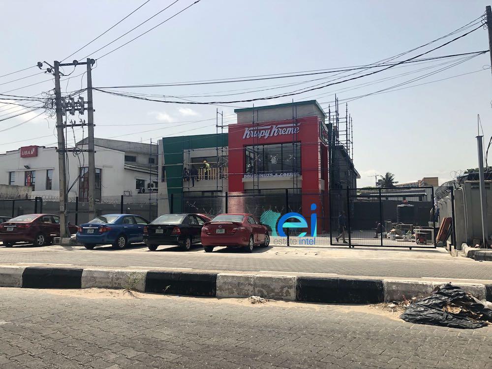 April 2018. Krispy Kreme Opening on Bishop Aboyade Cole Street, Victoria Island Soon