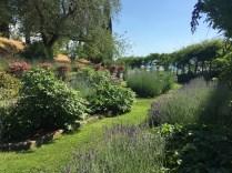 La Foce upper garden