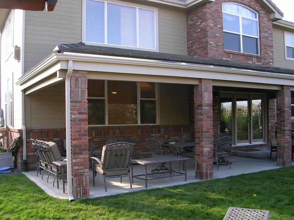 Westminster Patio Overhang : 6 Ideal Patio Overhang ... on Backyard Overhang Ideas id=75547