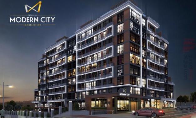 مشروع مجمع سكنيModern City Bahçelievler