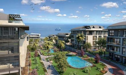 مشروع Palm Marin شقق على البحر بيليك دوزو