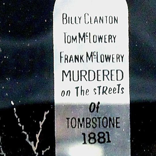Tombstone Graveyard Souvenir