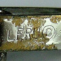 Leru Jewelry mark