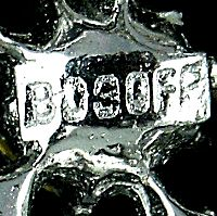 Bogoff Jewelry mark