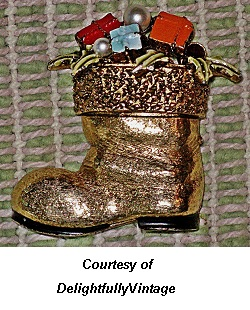 Christmas Jewelry Collection Boot