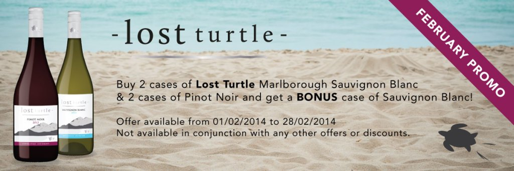 Lost Turtle February Promotion