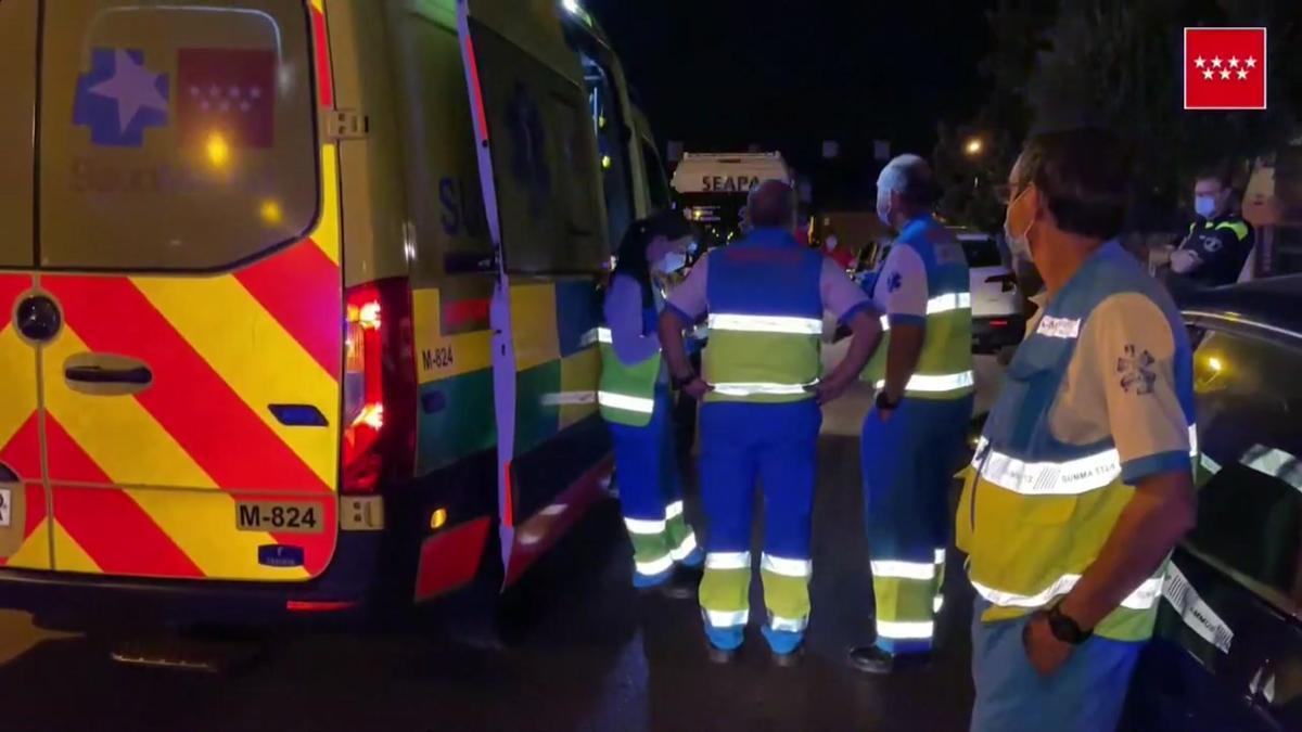 Detenido un hombre por el presunto asesinato de su mujer en Pozuelo de Alarcón (Madrid).