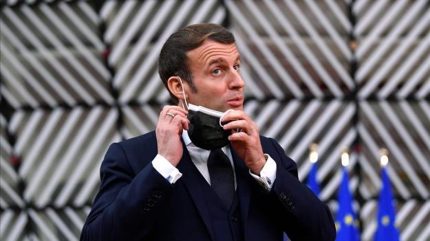 Macron da positivo por covid-19