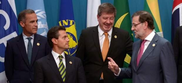 Peña Nieto en la cumbre del G20