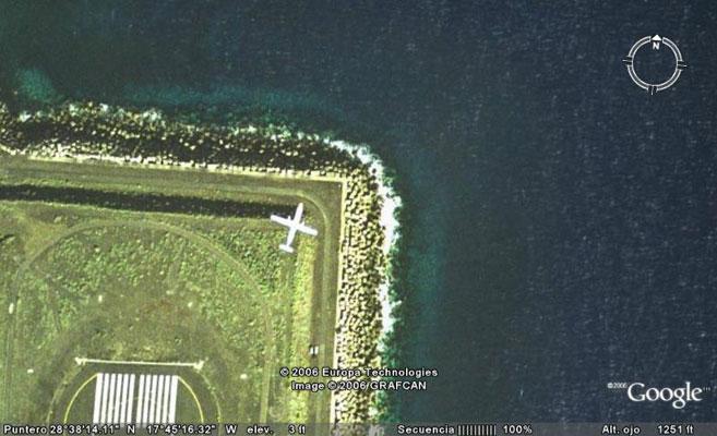 google avion canario