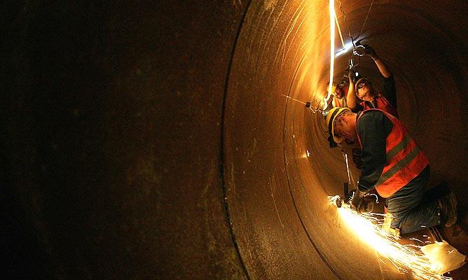130207 Trabajos en túnel en Alemania