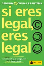 'Si eres legal, eres legal'
