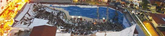 Derrumbe de una iglesia en Sao Paulo