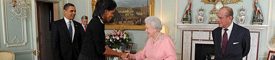 Obama en el Palacio de Buckingham