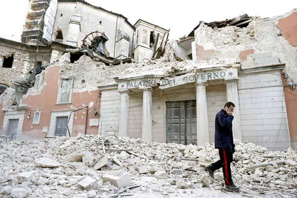 Terremoto en Italia.