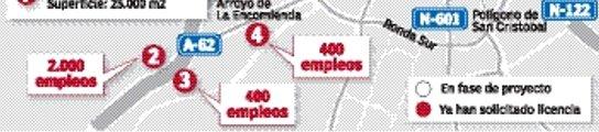 La Junta mantiene bloqueados 3.500 empleos en las grandes superficies  (Imagen: HENAR DE PEDRO)