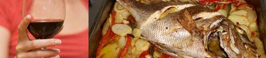 Descubren la razón científica de los problemas entre el vino tinto y el pescado