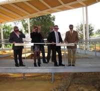 Plata presenta las visitas virtuales a la tumba de las Guirnaldas en la Necrópolis de Carmona