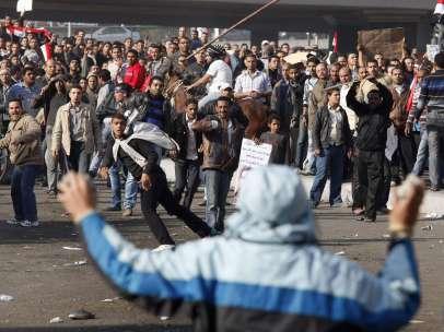 La batalla por Mubarak
