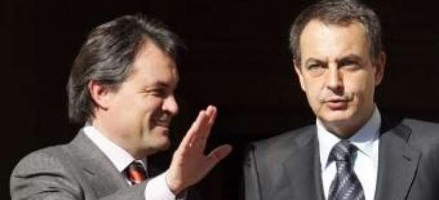 José Luis Rodríguez Zapatero y Artur Mas.