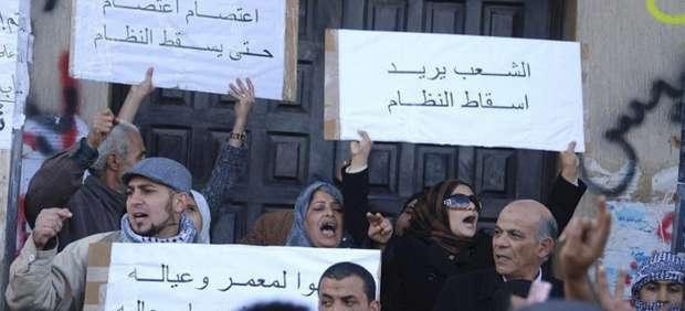 Protestas en Bengasi