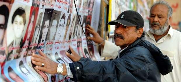 Fotos de víctimas en Bengasi