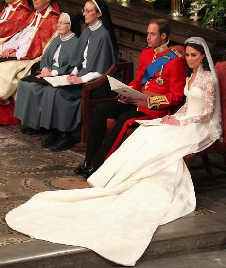 La ceremonia en Westminster
