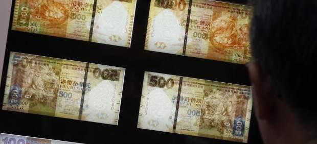 Un dolar de Hong Kong