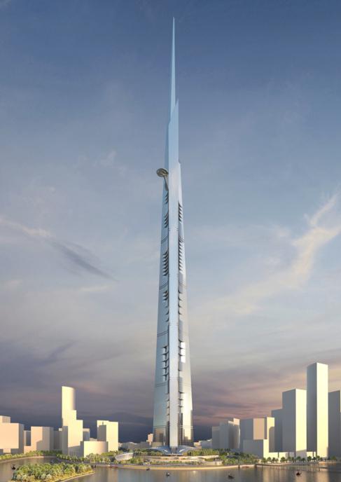 Imagen del rascacielos Kingdom Tower en la ciudad de Jeddah, Arabia Saudí. AS+ GG  / ElMundo.es