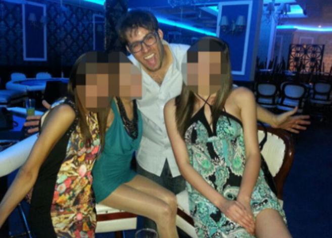 Hazan, cuando dirigía un casino en Bulgaria antes de ser diputado.