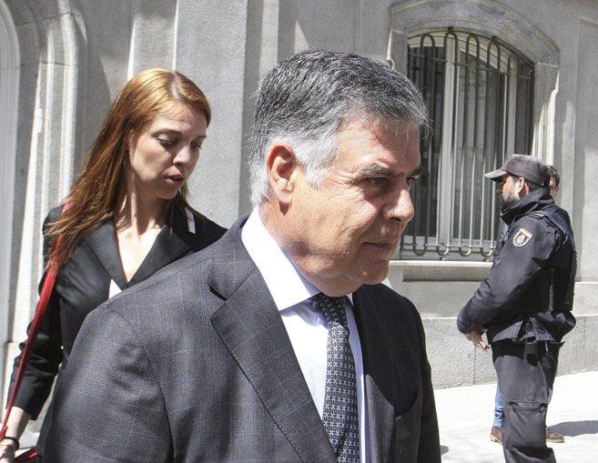 El diputado y ex consejero de Empleo, José Antonio Viera, tras...