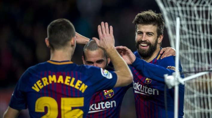 Image result for Pique and Vermaelen