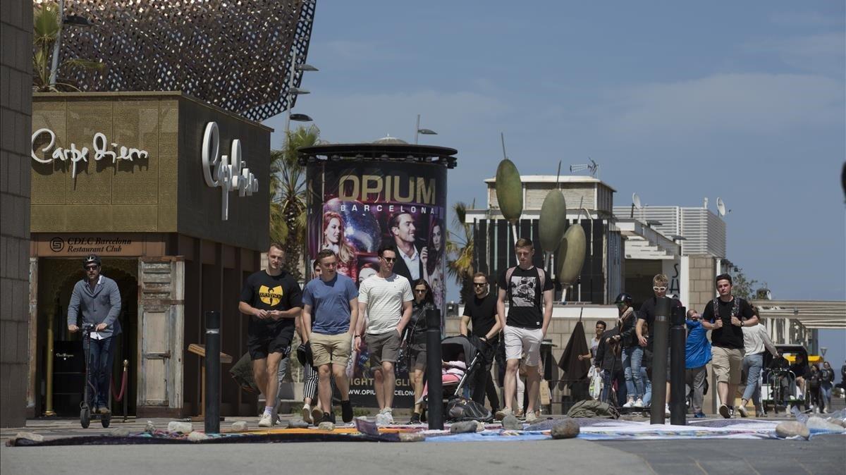 Discoteques Vila Olimpica Barcelona