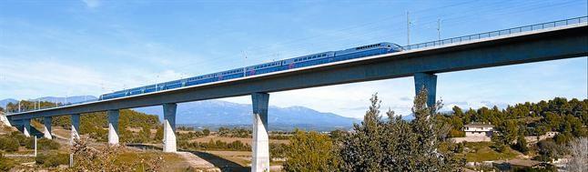 La nuova linea che collega Francia e Spagna, a Figueres.