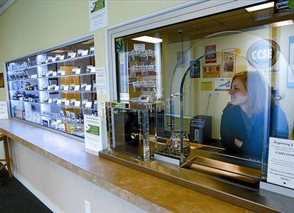 Dispensari de marihuana amb finalitats terapèutiques a Seattle (Washington).