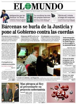 El Mundo, 1-2-2013.