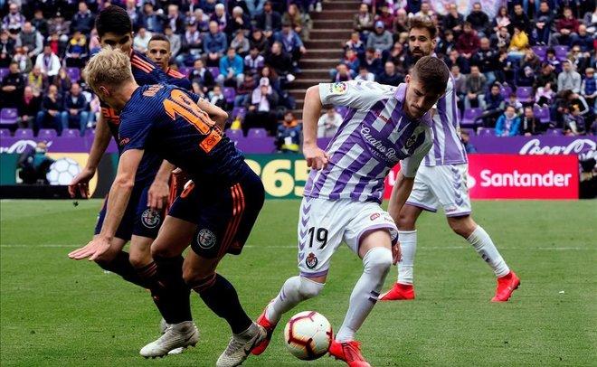 Investigat el Valladolid-València de l'última jornada de Lliga per possible manipulació