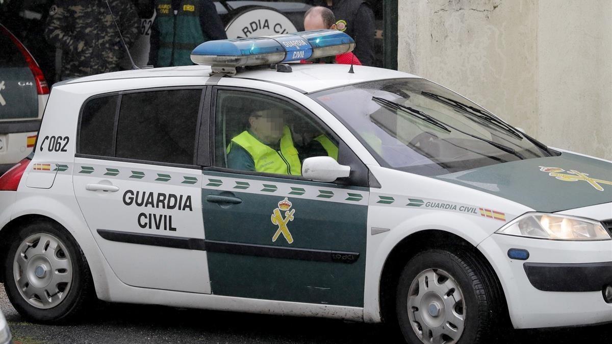 Una patrulla de la Guardia Civil en una imagen de archivo.