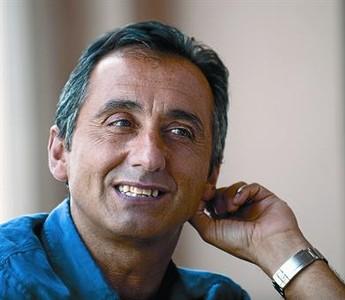 Manel Estiarte, durante la entrevista con EL PERIÓDICO.