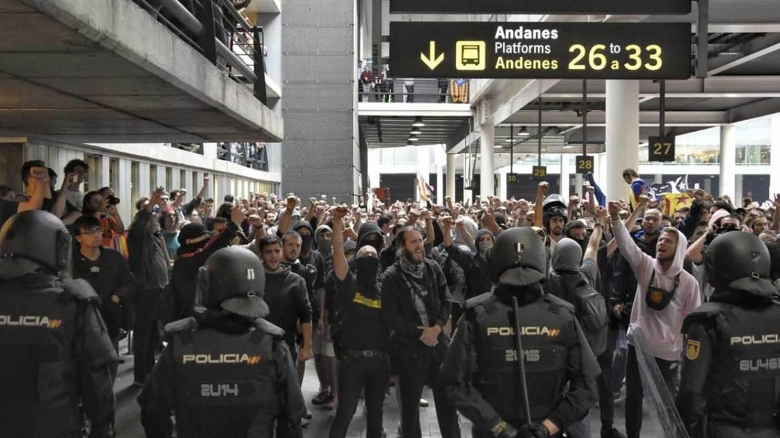 Protestas en Barcelona por sentencia del  procés PORTADA-VerdadDigital.com-