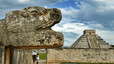 Ruinas mayas en Yucatán, México.